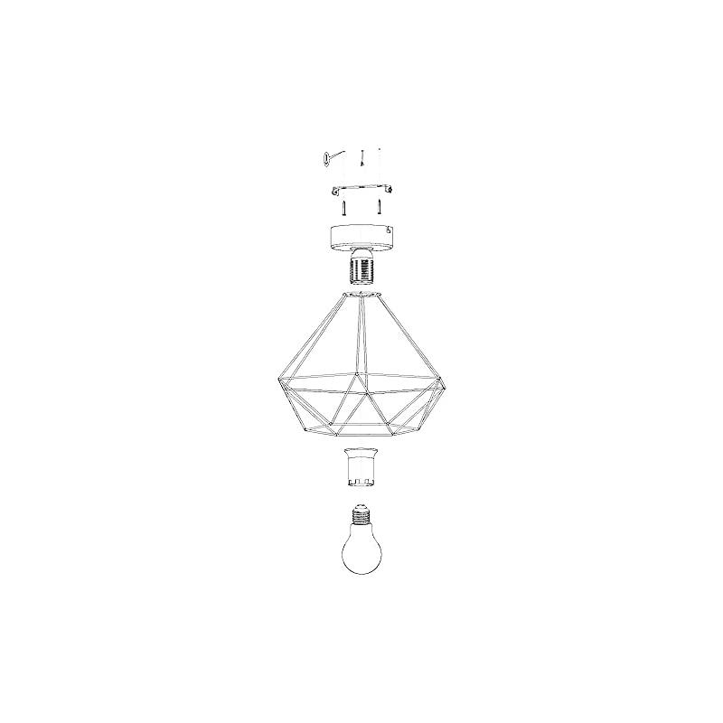 Lampe Vintage 2 80